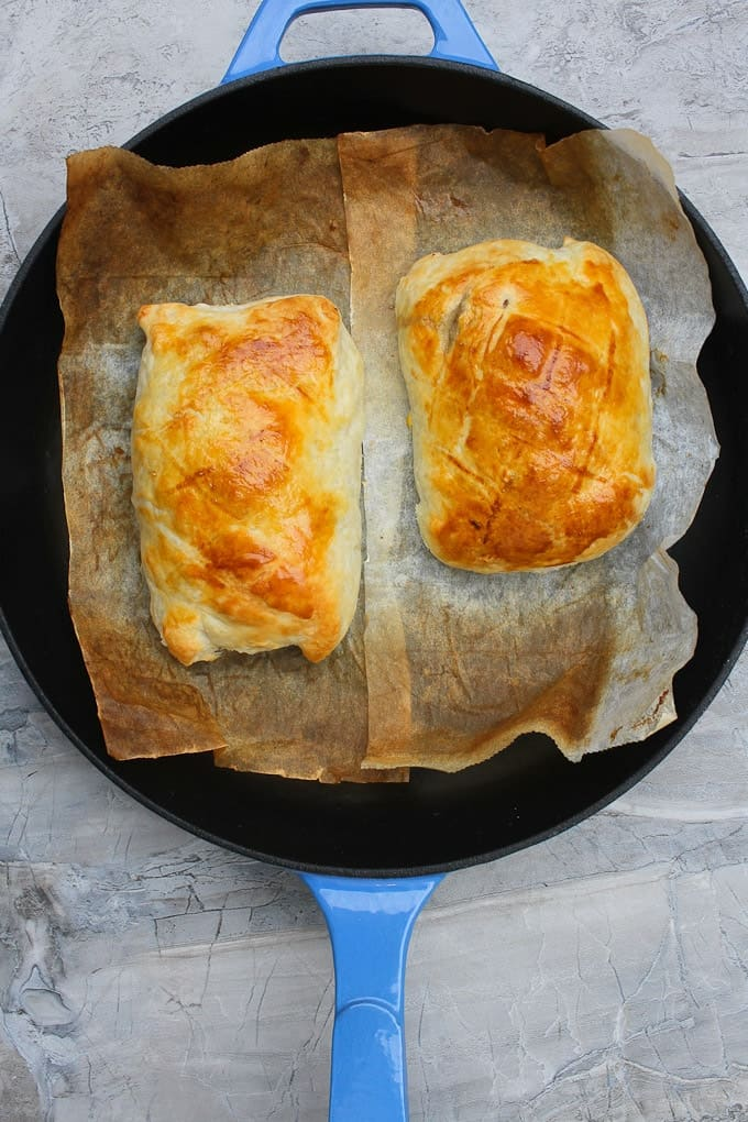 Bake Wellingtons until golden