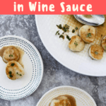 These rich and decadent Seared Scallops with Wine Sauce are flavorful, delicious, and quick to prepare.  These luxurious shellfish are perfect for Date Night!