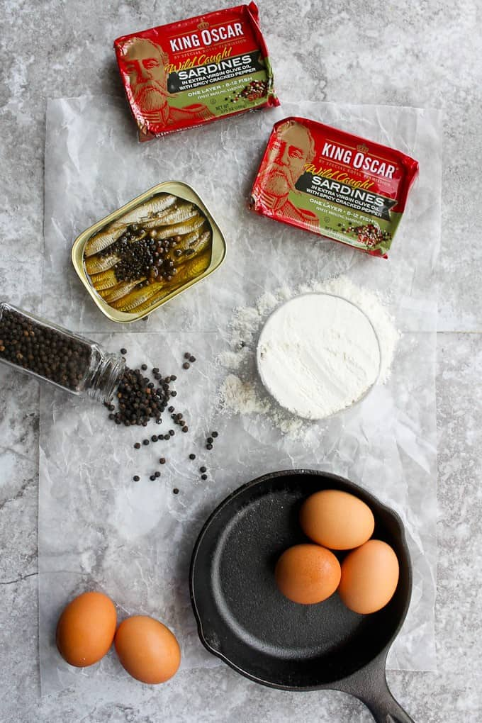 korean seafood pancakes (dutch baby recipe) ingredients