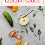 Love tzatziki sauce? Learn how to make it at home! This easy Greek recipe is healthy, and is perfect as a dip or sauce.