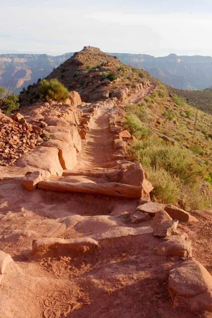 hike the grand canyon- the south kaibab trail