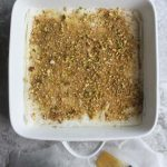 how to layer baklava