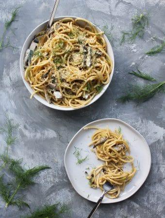 Pasta con le Sarde: Pasta with Sardines