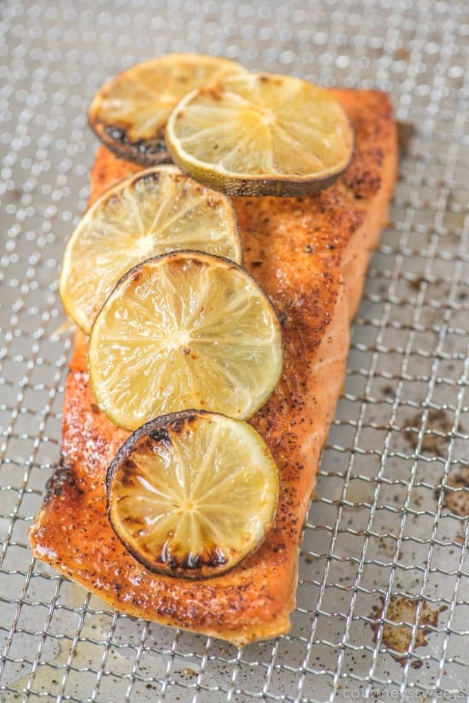 Air Fryer Salmon - from Courtney's Sweets