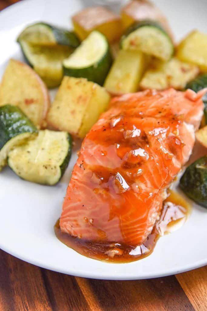 Maple Salmon - from Courtney's Sweets