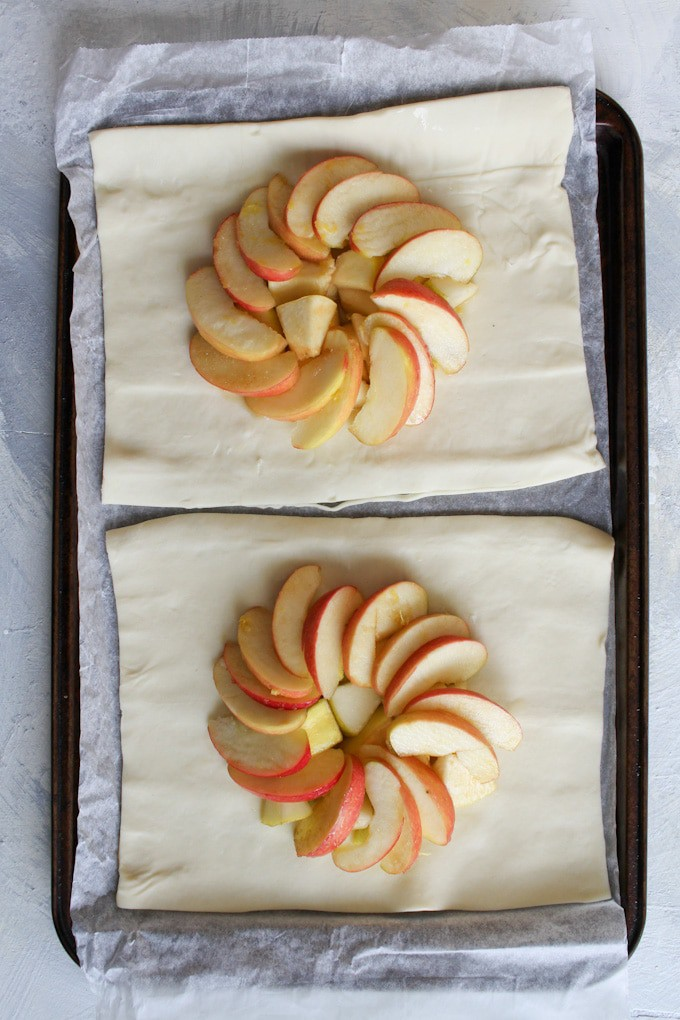 Top with Apple Slices
