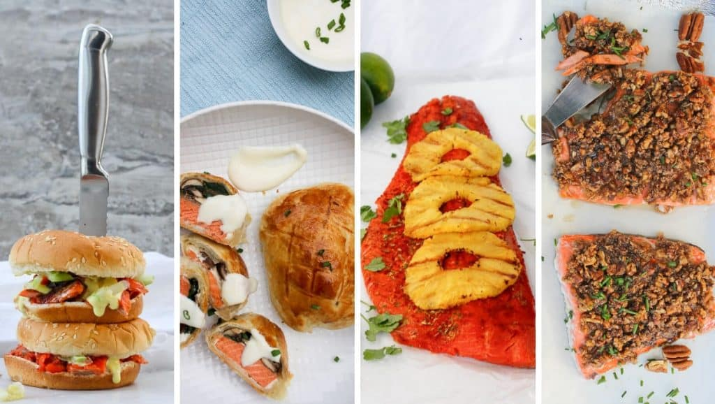 photos of sockeye salmon recipes