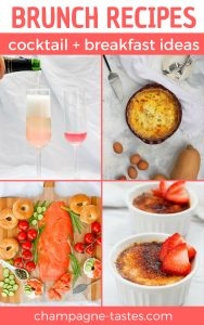 These delicious brunch recipes are a collection of my favorite breakfast meals and cocktails, and are perfect for your next breakfast party!