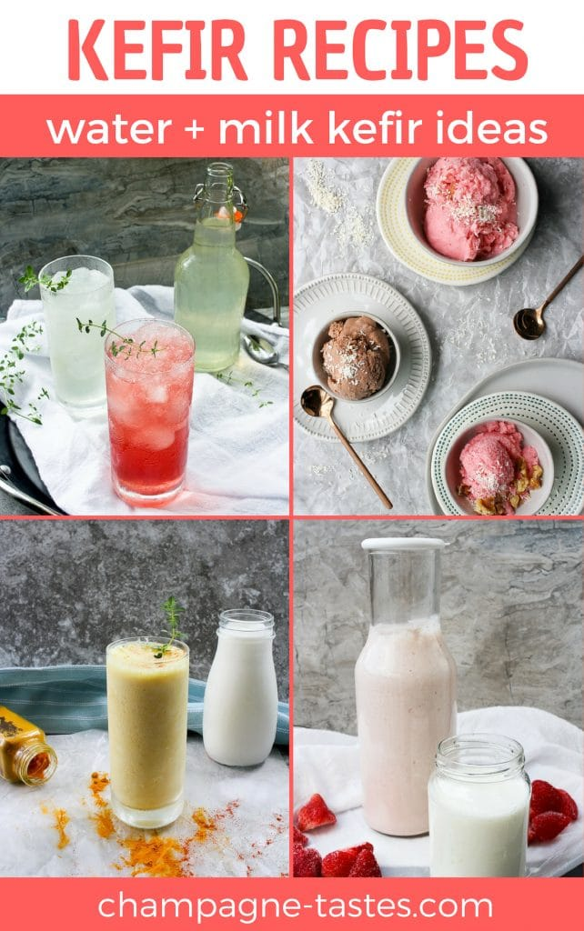 Whether you're a regular kefir drinker, or just starting to learn about water kefir and milk kefir, these kefir recipes will help you enjoy even more of these delicious probiotic drinks!