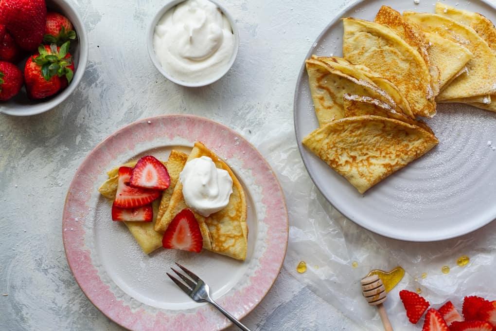 Julia Child's French Crêpe Recipe