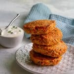 easy salmon patties with dijon mustard sauce