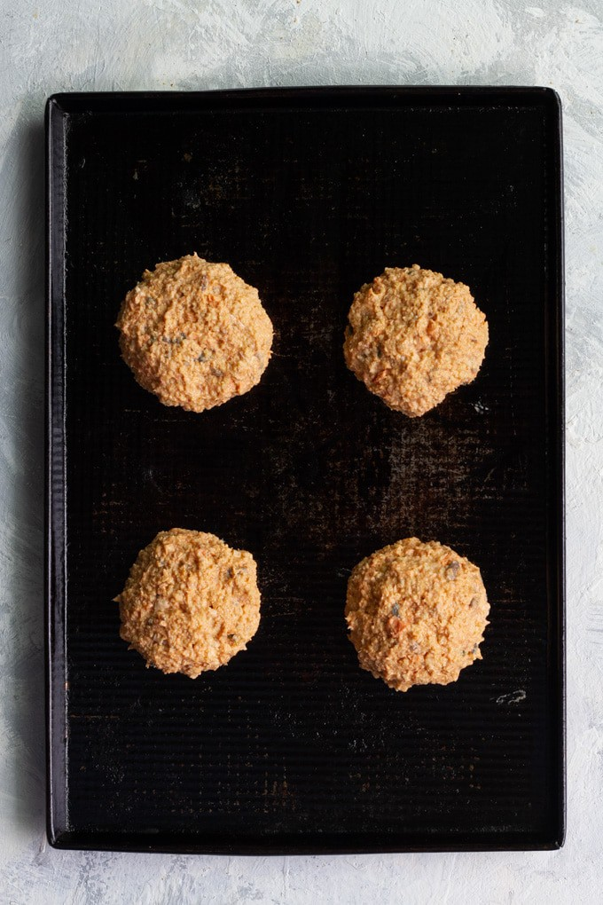 Form the Salmon Mixture into Patties