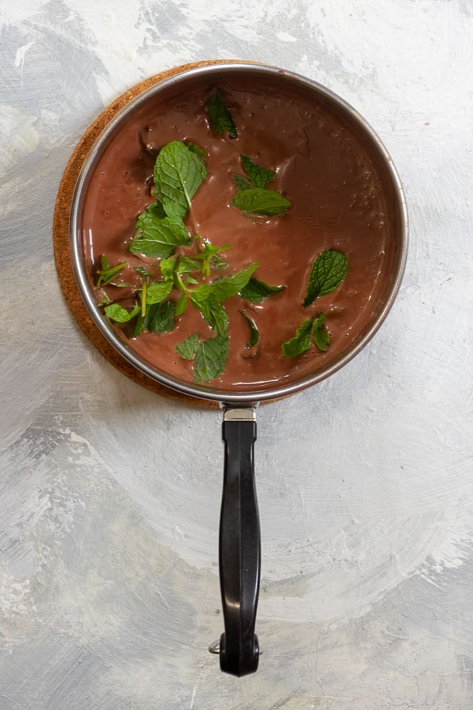 Stir in Fresh Mint