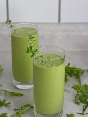 arugula smoothie