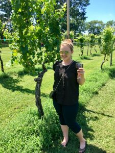 Sarah Trenalone of Champagne Tastes