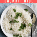 Love basmati rice, but don't like cooking it on the stovetop? Here's an easy tutorial on how to make Instant Pot basmati rice!