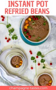These Instant Pot refried beans transform pre-soaked pinto beans into flavor-packed refried beans seasoned with jalapeños, onions, and spices. (Plus no-soak option.)