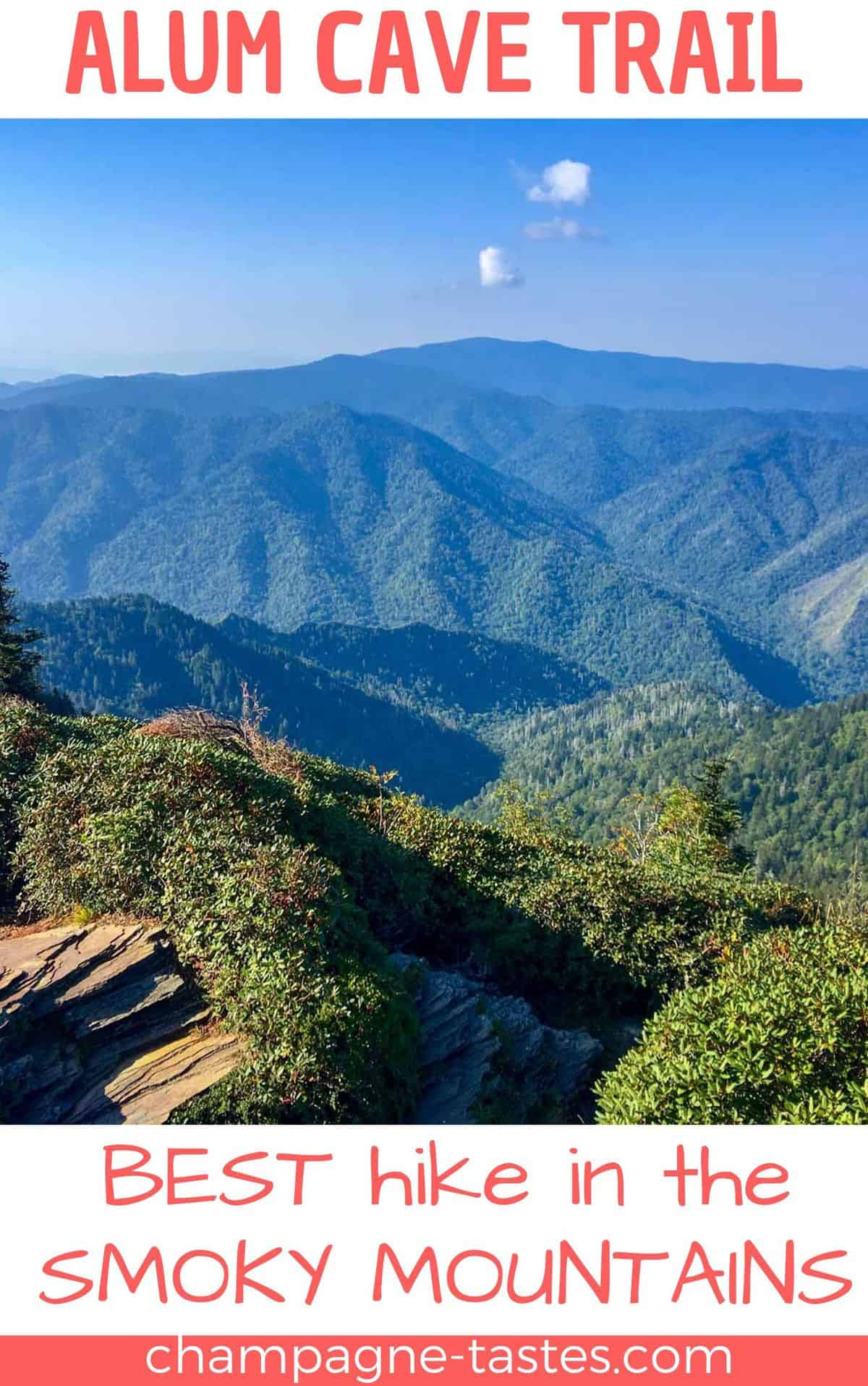 Are you visiting the Smoky Mountains, and want to go on an epic hike? Hike the Alum Cave Trail to the peak of Mount LeConte!