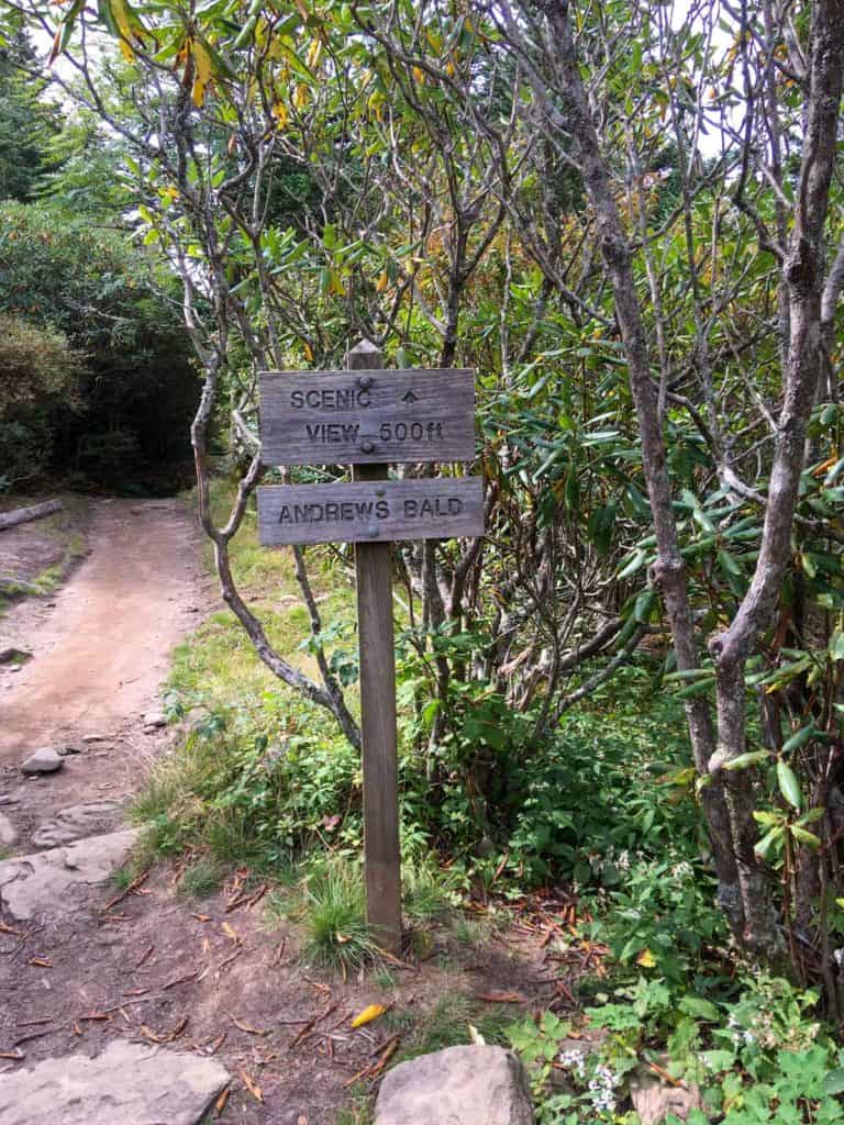 Scenic View Trail Sign