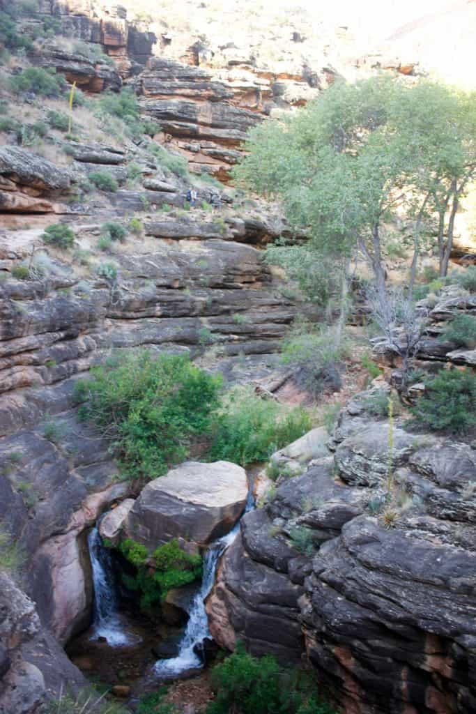 Water Along the Bright Angel Trail