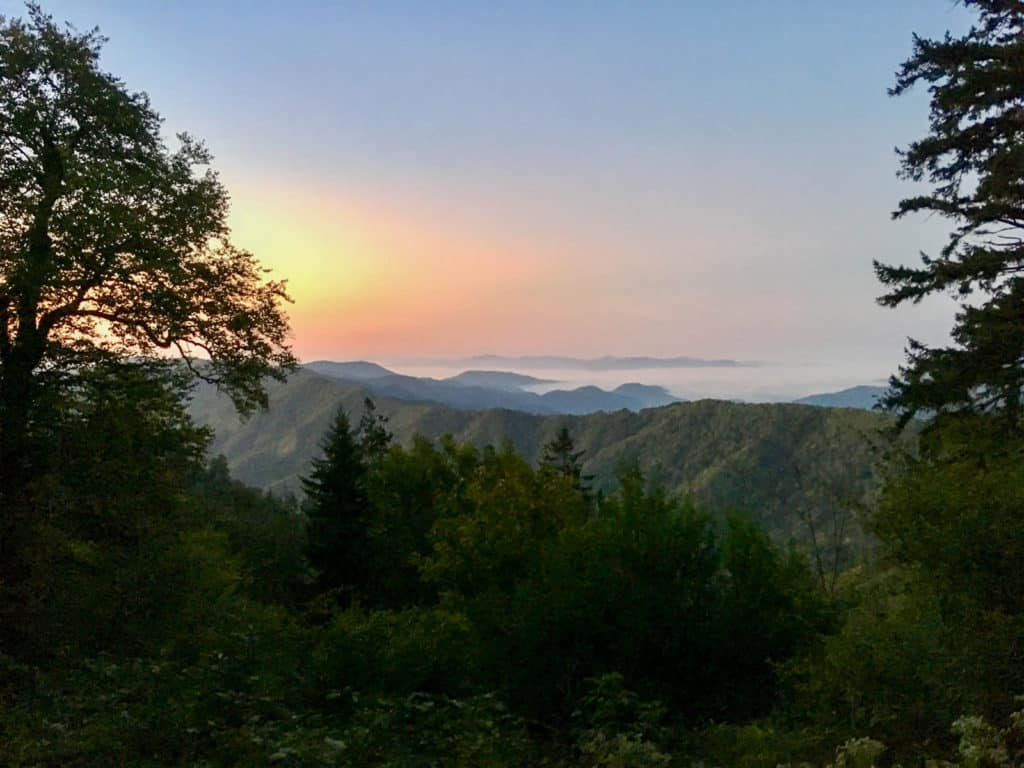 View along the Appalachian Trail