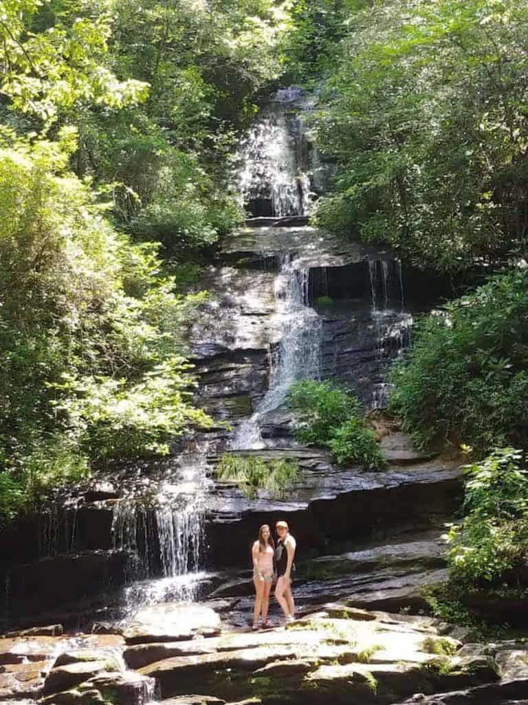deer creek loop trail waterfall