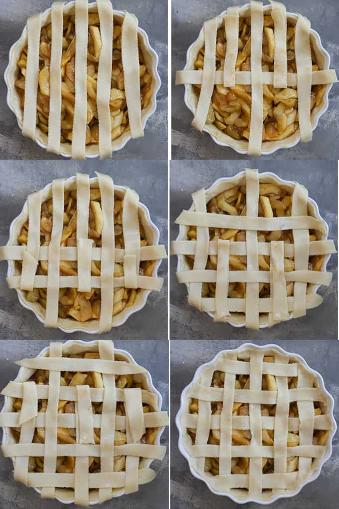 How to Make a Lattice Pie Top