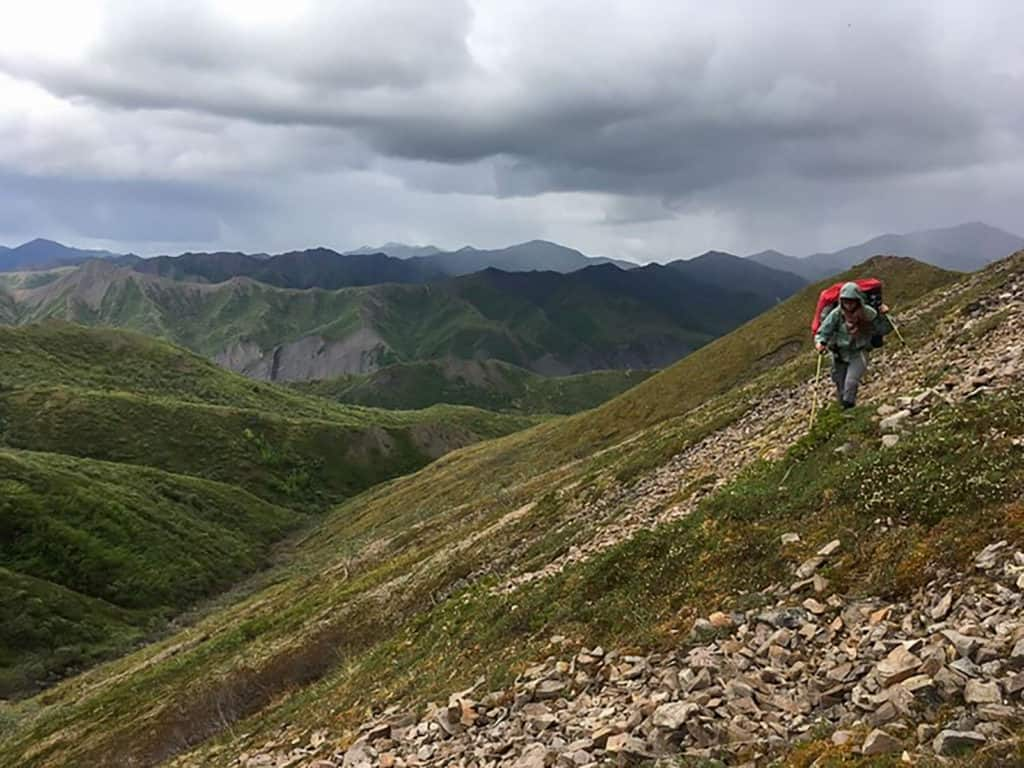 backpacking in denali