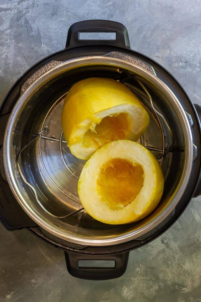 Put Spaghetti Squash in the Instant Pot
