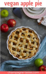 The secret to the perfect vegan apple pie? Cook the apples before baking! This delicious pie is a plant-based twist on the classic dessert.