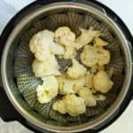 Steam Cauliflower in the Instant Pot