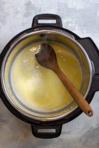 Warm Milk, Cream, + Butter