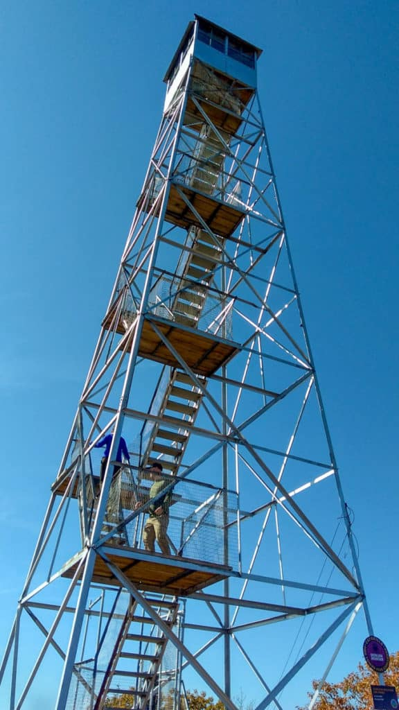 Fire Tower on Overlook Mountain