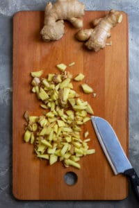 Chop the Ginger Root