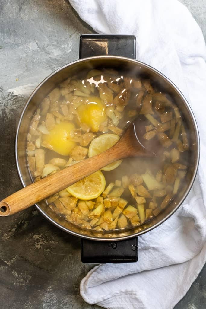 Boil the Ginger + Lemon