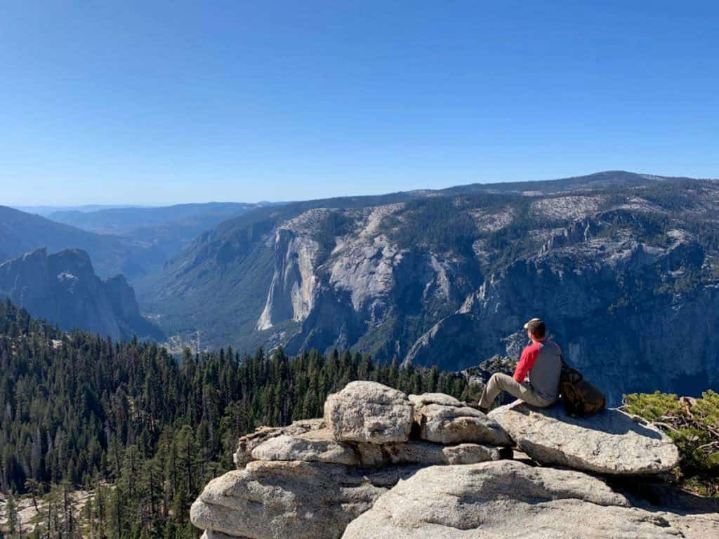 At the Summit of Half Dome