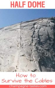 Is hiking Half Dome in Yosemite National Park on your bucket list? We did this epic trail (including the infamous cables) in one day. Here's how we did it and what to expect when you go!