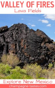 The Valley of Fires in Carrizozo, New Mexico is one of the youngest lava flows in the continental United States. Visit this park to explore the hardened lava fields!