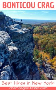 Do you like climbing, vistas and beautiful scenery? Then grab your hiking boots, head to New York's Mohonk Preserve, and climb to the peak of Bonticou Crag!