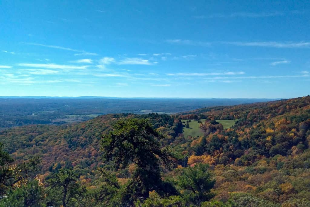 Views at Bonticou Crag