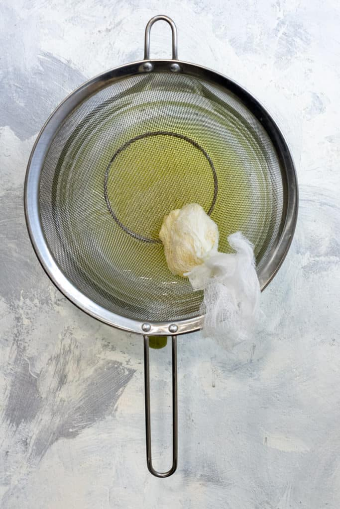 Squeeze Liquid From Cheesecloth