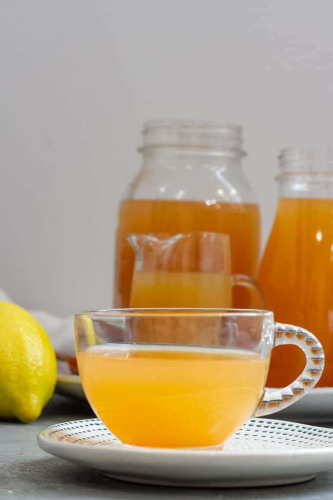 lemon ginger wellness shot