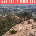 Are you planning on hiking Camelback Mountain? Here's what you should know before attempting to hike this challenging rocky peak in downtown Phoenix, Arizona.