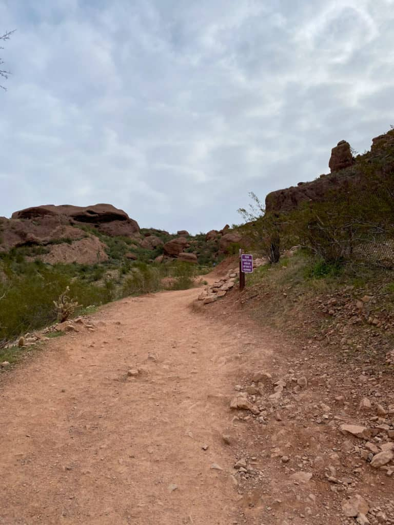 Echo Canyon Trailhead