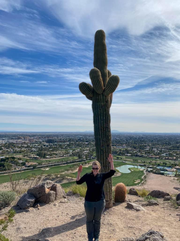 Posing Like a Cactus
