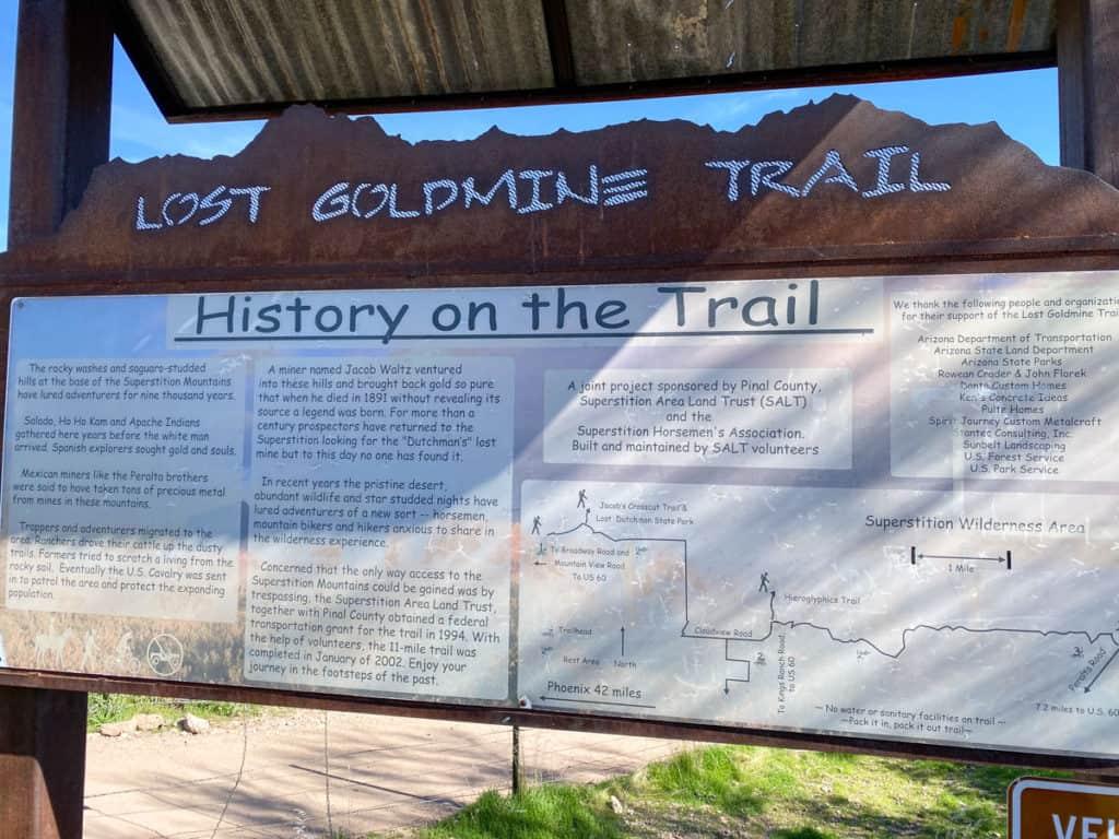 Lost Gold Mine + Hieroglyphic Trailhead