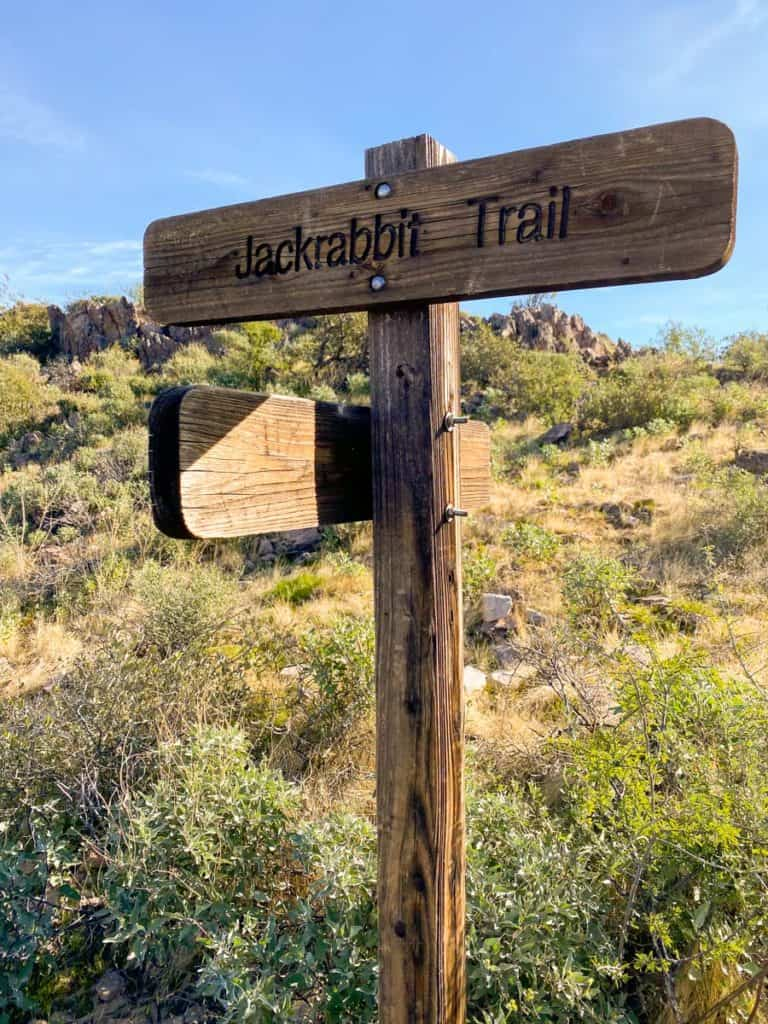 Coyote Loop + Jackrabbit Trail Junction