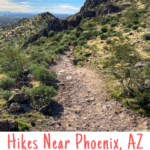 Are you visiting Phoenix, Arizona and want to go for a hike? Make sure to check out the hiking trails at Silly Mountain near Lost Dutchman State Park.