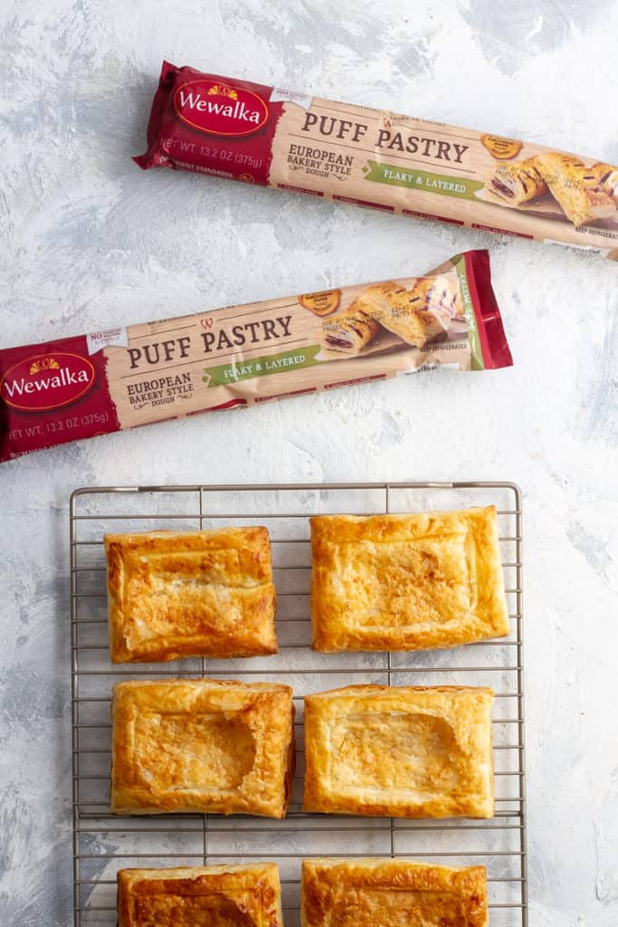 Baked Puff Pastry Tarts