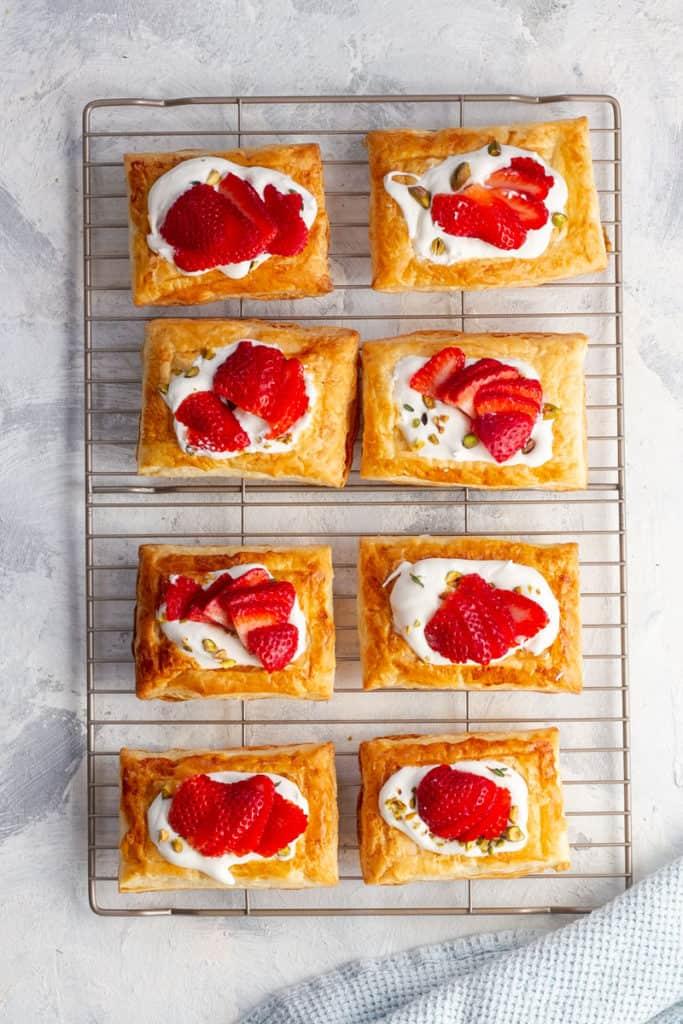Add Sliced Strawberries